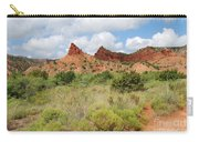 Mountain Peaks At Caprock  Carry-all Pouch