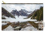 Mountain Picture Lake Agnes Carry-all Pouch