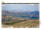 Mountain Range From Mount Evans Summit Carry-all Pouch