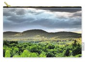 Mountain Range I Art Carry-all Pouch