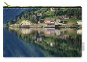 Mountain Reflected In Lake Carry-all Pouch
