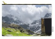 Mountain Refuge Of Mount Viso Carry-all Pouch