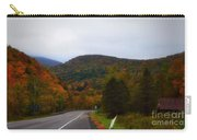 Mountain Road, Killington Vermont Carry-all Pouch
