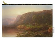 Mountain Scene On The Ohio River Carry-all Pouch