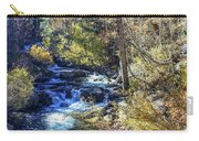 Mountain Stream In Fall Carry-all Pouch