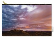 Mountain Sunset In New River Carry-all Pouch