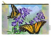 Mountain Swallowtail Carry-all Pouch