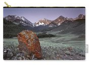 Mountain Textures And Light Carry-all Pouch