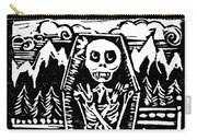 Mountain Town Skeleton Carry-all Pouch