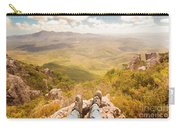 Mountain Valley Landscape Carry-all Pouch