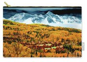 Mountain Village Autumn Carry-all Pouch