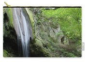 Mountain Waterfall Spring Nature Scene Carry-all Pouch