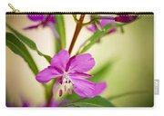 Mountain Wildflower In Summer Carry-all Pouch