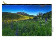 Mountain Wildflowers And Light Whispers Carry-all Pouch