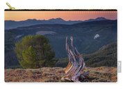 Mountain Wood Formation Carry-all Pouch