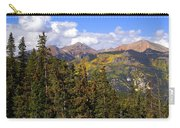 Mountains Aglow Carry-all Pouch