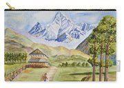 Mountains And Valley Carry-all Pouch