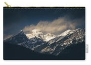Mountains At Dusk Carry-all Pouch