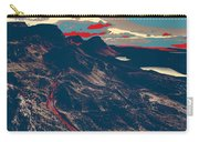 Mountains By Red Road Carry-all Pouch