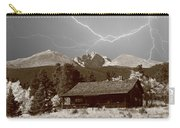 Mountains Cabin - Lightning - Longs Peak Carry-all Pouch