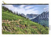 Mountains In Glacier National Park 1 Carry-all Pouch