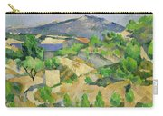 Mountains In Provence Carry-all Pouch by Paul Cezanne