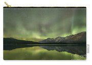 Mountains In The Northern Lights Carry-all Pouch