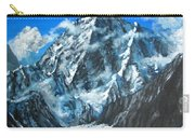 Mountains View Landscape Acrylic Painting Carry-all Pouch