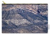 Mountainside Abstract - Red Rock Canyon Carry-all Pouch