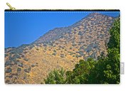 Mountainside From Wealthy Neighborhood Above Santiago-chile Carry-all Pouch