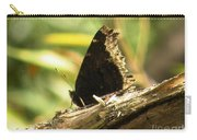Mourning Cloak Butterfly Carry-all Pouch