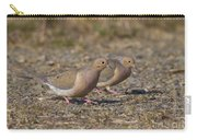 Mourning Dove Pair Carry-all Pouch