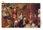 Mourning Over The Dead Body Of Christ Carry-all Pouch