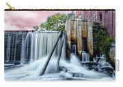 Mousam River Waterfall In Kennebunk Maine Carry-all Pouch