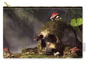 Mouse In A Skull Carry-all Pouch