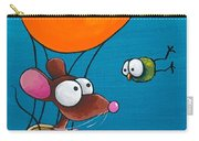 Mouse In His Hot Air Balloon Carry-all Pouch