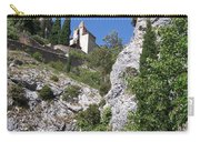 Moustier St. Marie Church Carry-all Pouch
