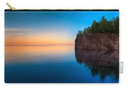 Mouth Of The Baptism River Minnesota Carry-all Pouch by Steve Gadomski
