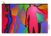Human Movement In Color Carry-all Pouch