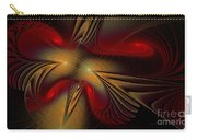 Movement Of Red And Gold Carry-all Pouch