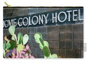 Movie Colony Hotel Palm Springs Carry-all Pouch