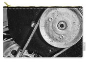 Movie Projector Gears In Black And White Carry-all Pouch