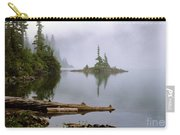 Mowich Lake In Fog  Carry-all Pouch