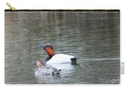 Mr And Mrs Canvasback Carry-all Pouch