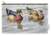 Mr. And Mrs. Wood Duck Carry-all Pouch