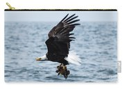 Mr. Bald Eagles Catch Carry-all Pouch
