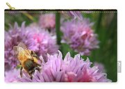 Mr Bee On My Chives Carry-all Pouch