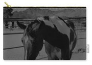 Mr Ed In Black And White Carry-all Pouch