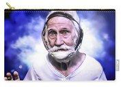 Mr. Joseph Blue Pulaski Carry-all Pouch by Nicholas  Grunas