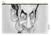 Mr Nicolas Sarkozi Caricatur Portrait Carry-all Pouch